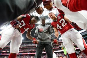 Falcons Prayers' Rise Up