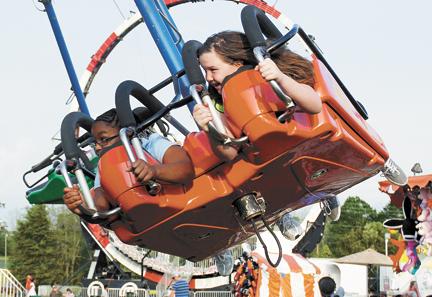 Flying at fair