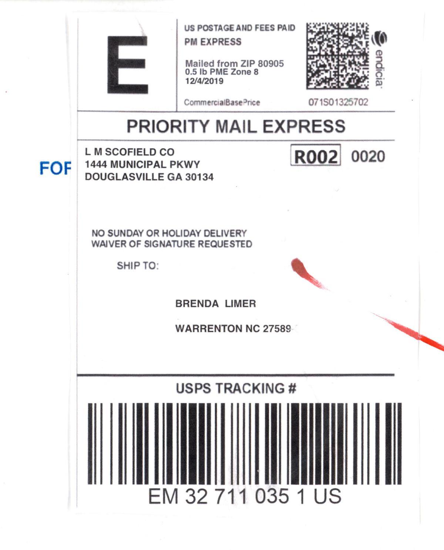 scam label