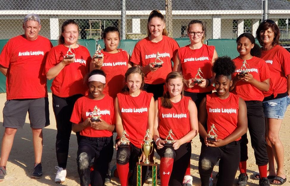 13-16 Softball Champions, Arcola Logging