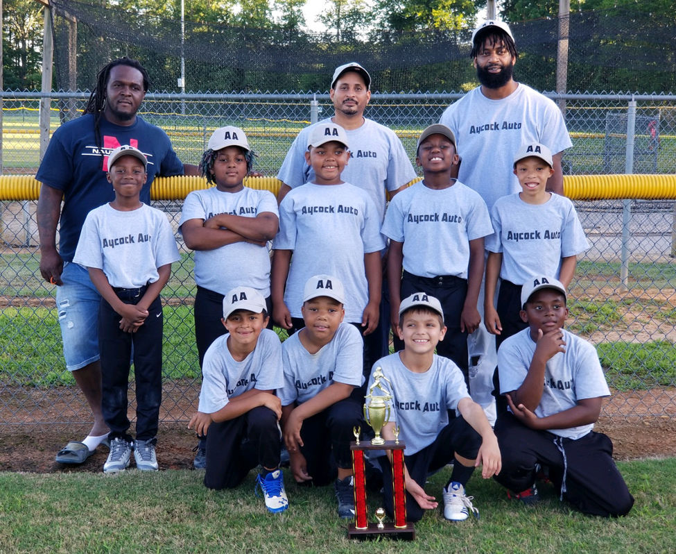 7-9 Baseball second place, Aycock Auto
