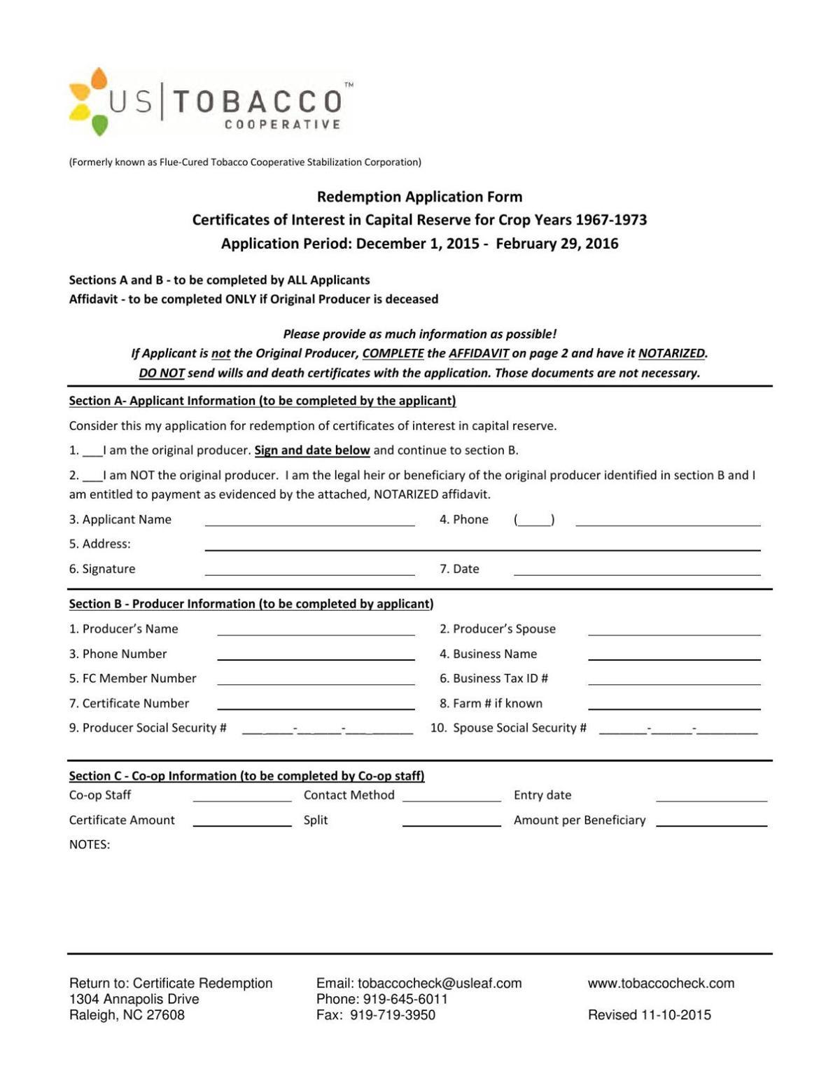Application pdf | | warrenrecord com