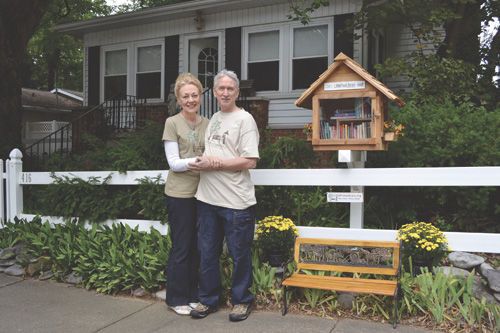 Newburgh's own Little Free Library