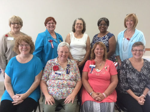 Local auxiliaries provide statewide leadership