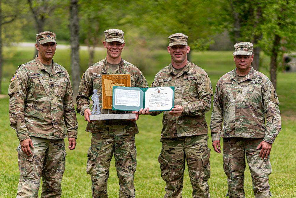 Brucken wins Regional Best Warrior Competition