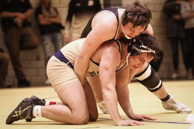 Knights take first, Pioneers take second at wrestling sectionals