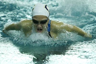 Lady Knights take second at girls swimming sectionals