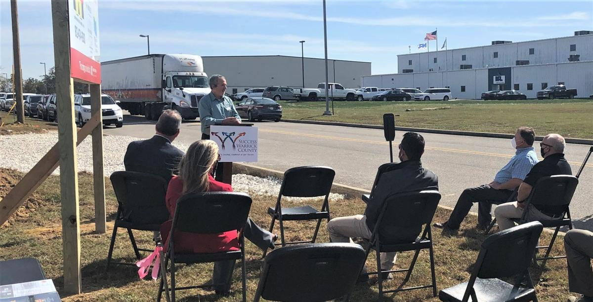 New building added to North Warrick Industrial Park