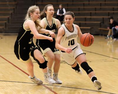 Lady Pioneers fall to Lady Hatchets in senior night matchup