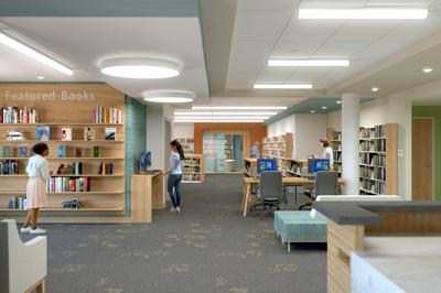 Renovation work begins at Chandler Library