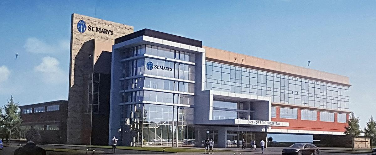 St. Mary's announces new orthopedic hospital to be built