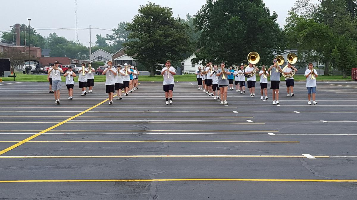 Students learn skills for life at band camp