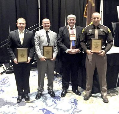 County officers recognized for their life saving efforts