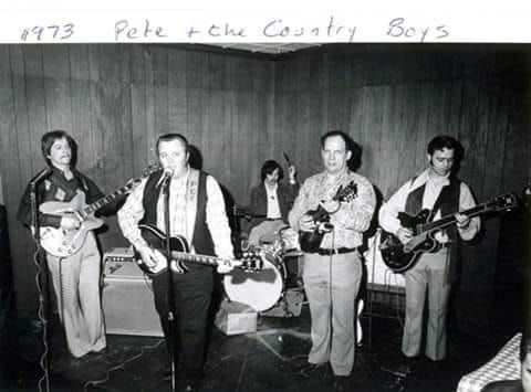 Pete and the country boys