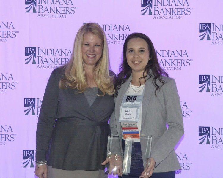 Springs Valley Bank receives award