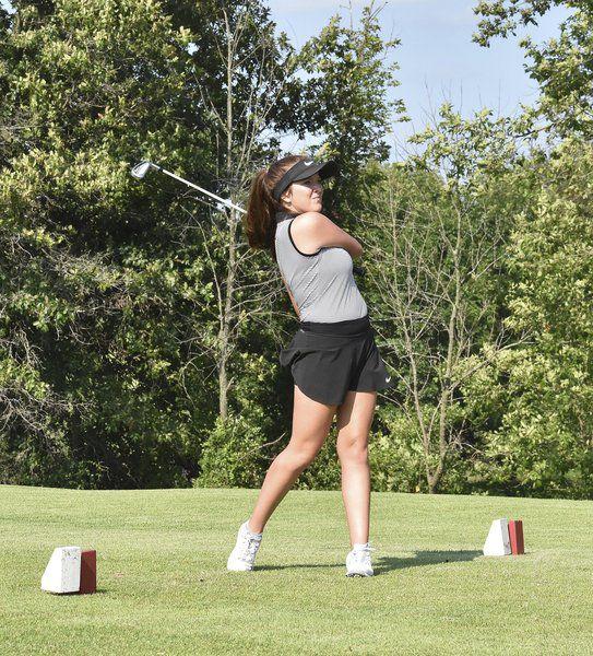 Girls golf season tees off