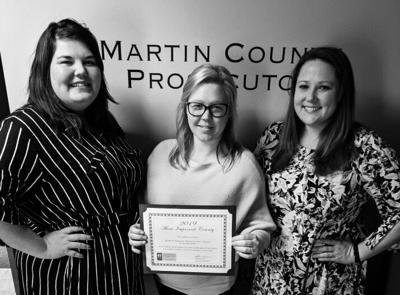 Martin Country Prosecutor's Office Child Support Division honored
