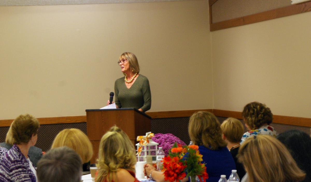 Suzanne Crouch at Women in Business