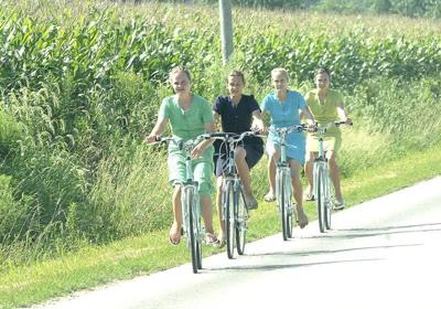 Amish on bikes creating safety concern