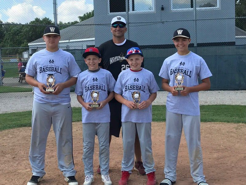 Hatchets host baseball camp