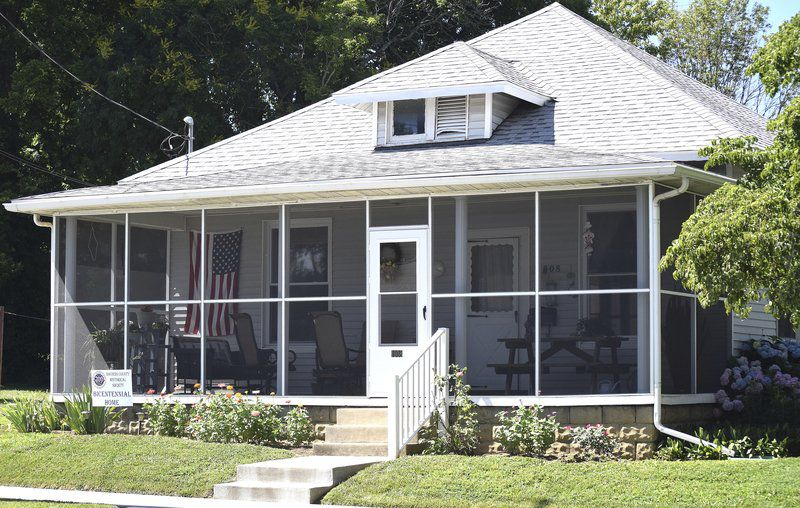 More than a century's worth of well-built homes dot community