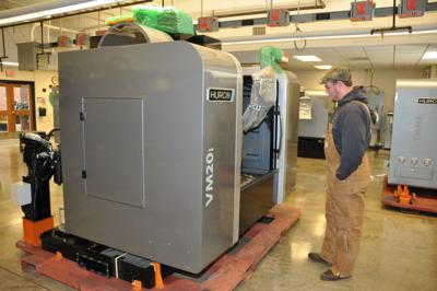 Hurco installs manufacturing machines at VU | Community