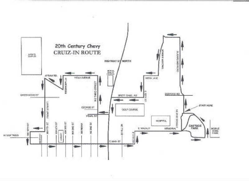 Carfest map