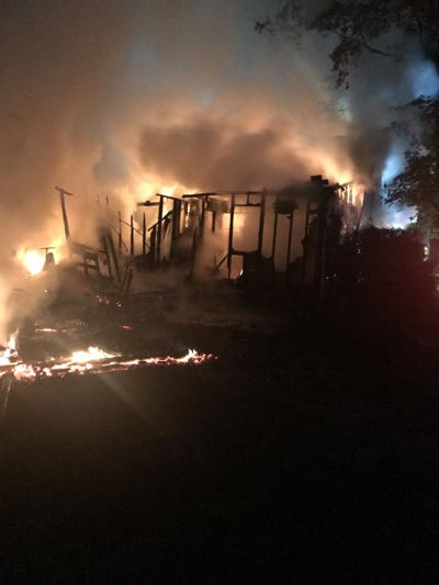Troy Road fire