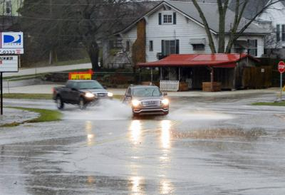 Rain causes flooding in several areas