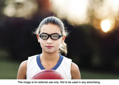 sports and eyes