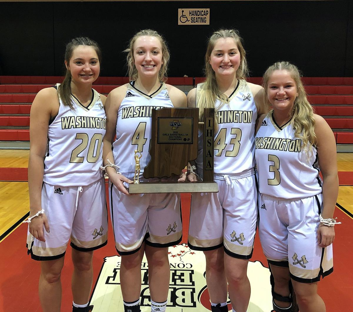 WHS seniors receive sectional trophy