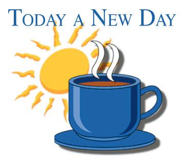Today a New Day coffee mug