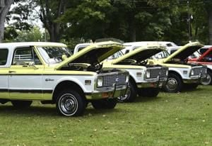 Line of Chevys