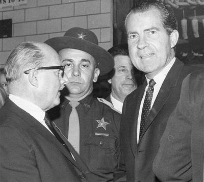 Candidate Nixon fills Hatchet House
