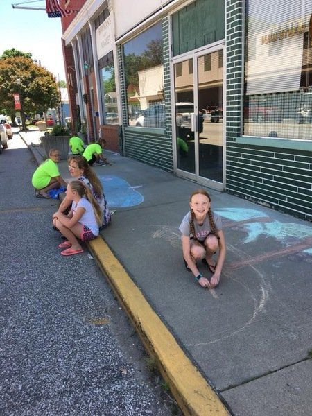 Chalk Up the Town is Saturday