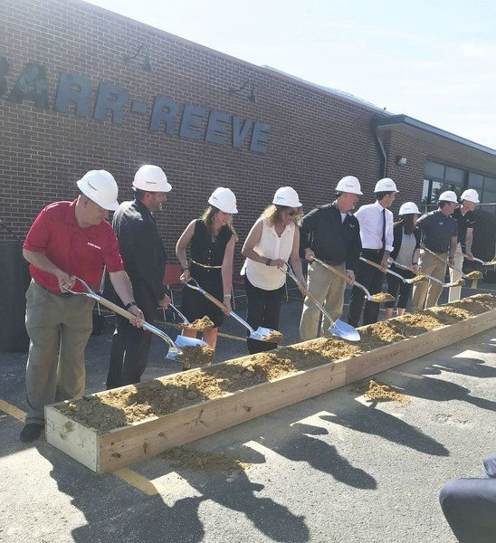 B-R breaks ground on building project