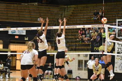 Barr-Reeve and WHS volleyball
