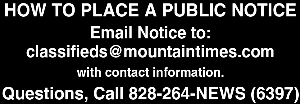 How To Place A Public Notice