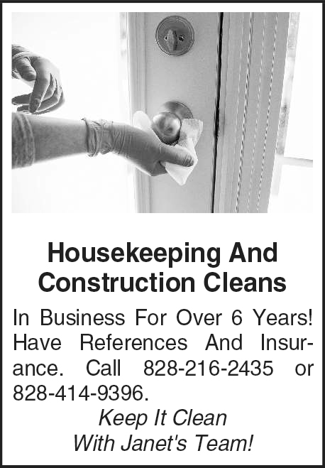 Housekeeping And Construction Cleans