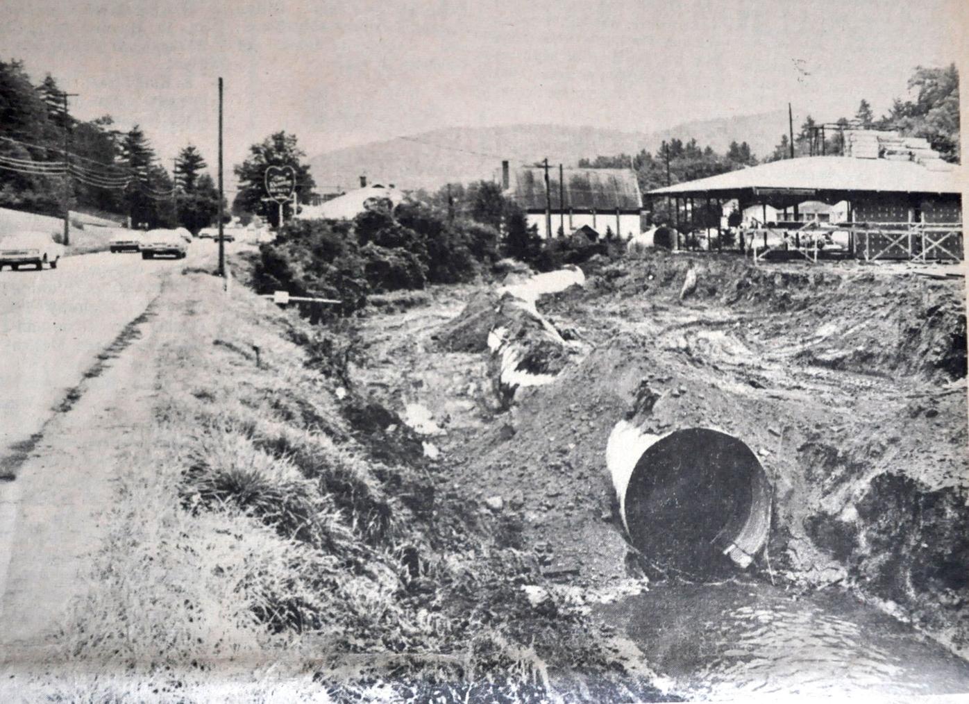 Culvert installed on Boone Creek