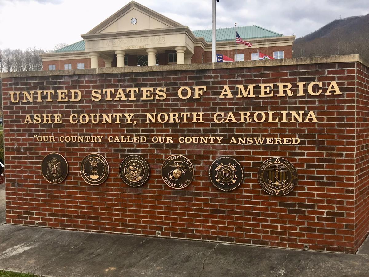 Ashe County Veterans Monument