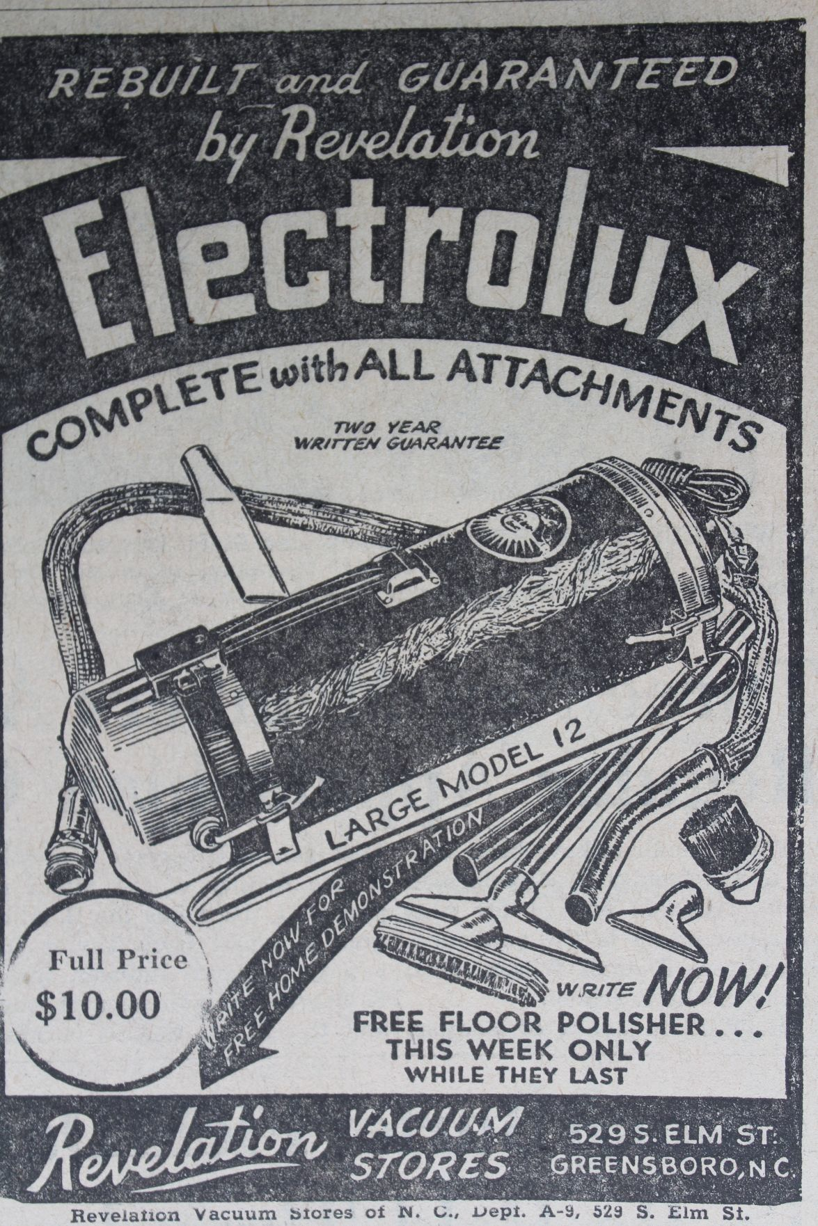 Electrolux ad