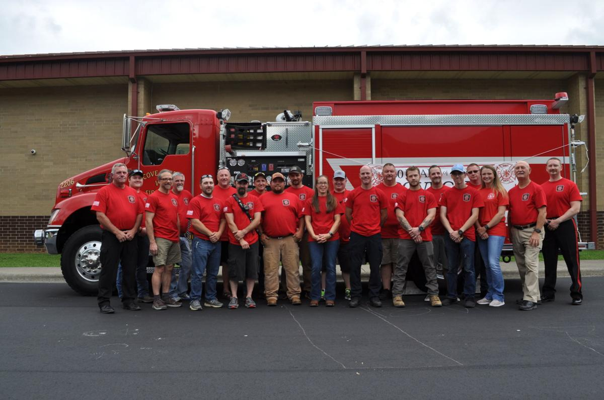 Current members of the CCVFD