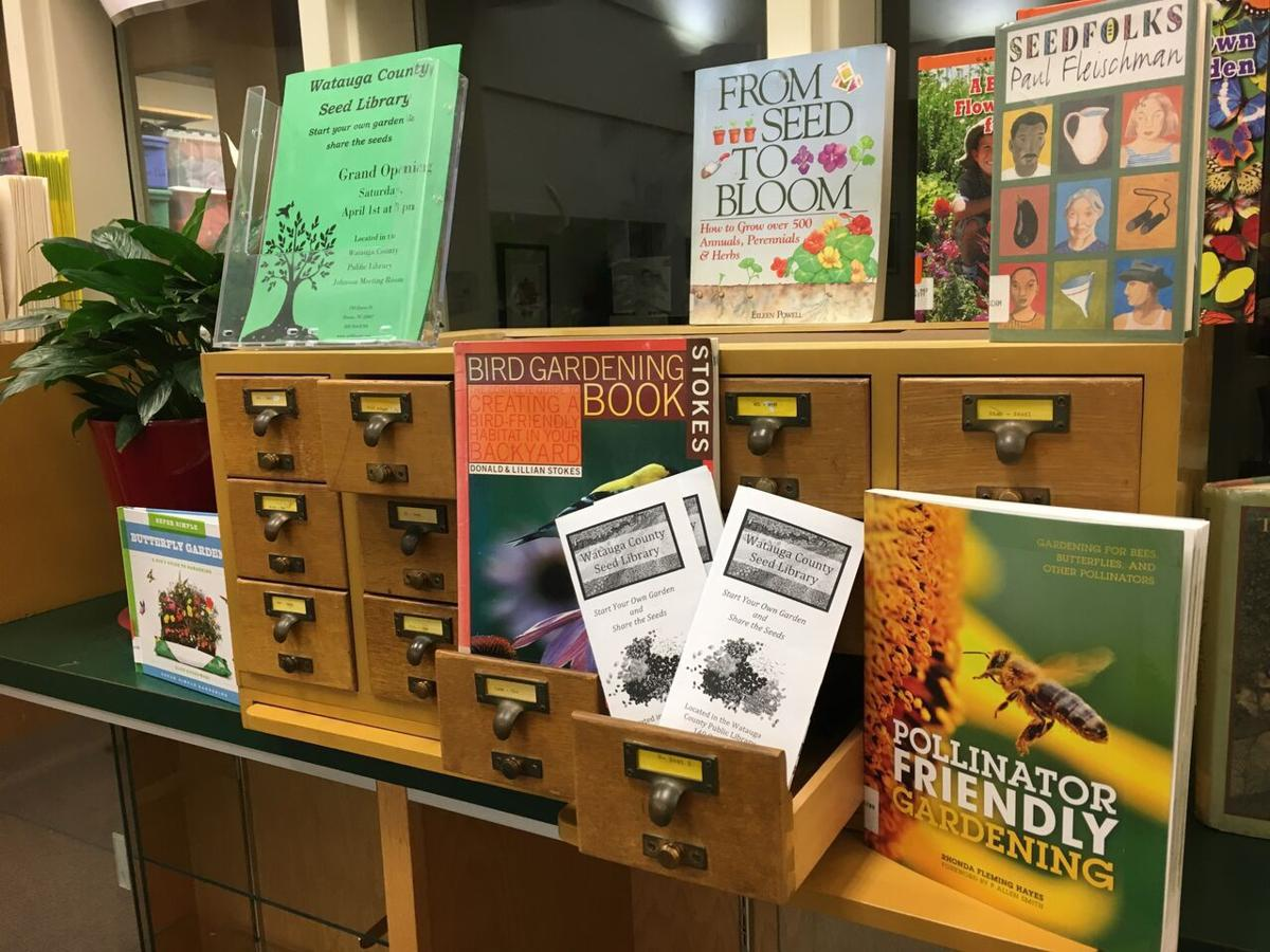 Seed libraries now open at local public libraries | Mountain Times ...