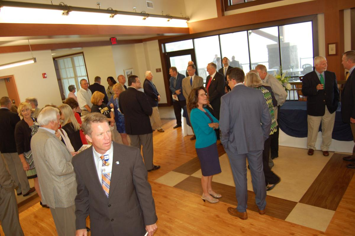 Gathering at the Foley Center