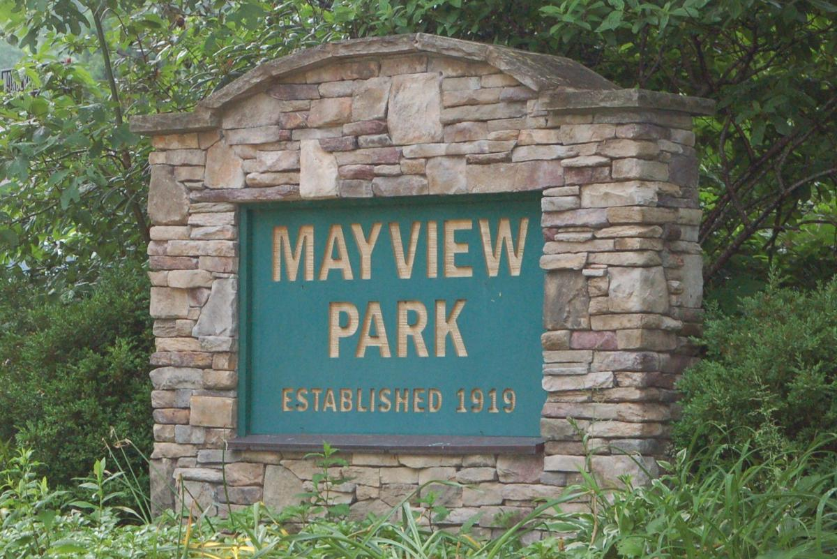 Mayview Park sign