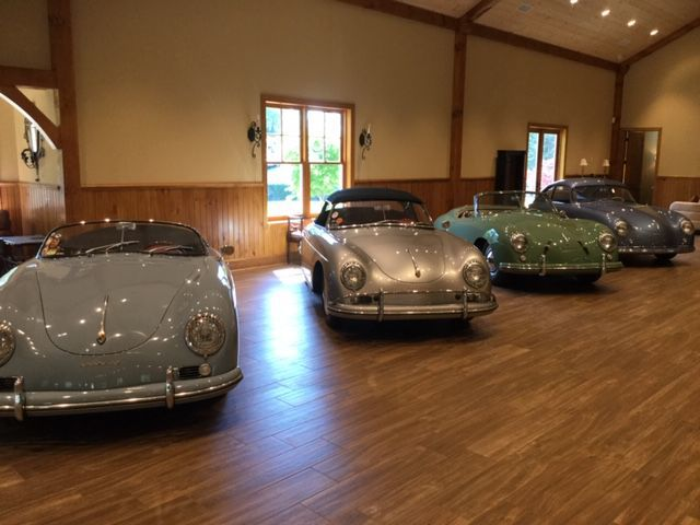 Perry's classic European sports car collection