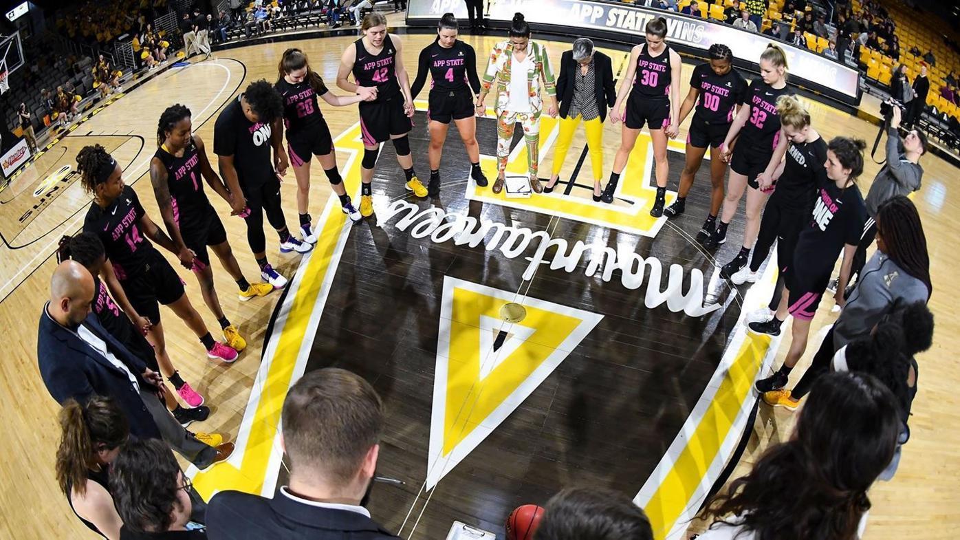 App State women's basketball