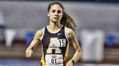 Van Ord runs in Olympic Trials