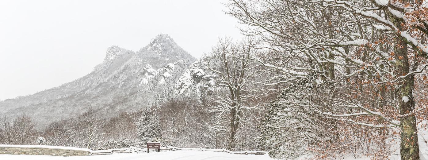 Snowscape at Grandfather